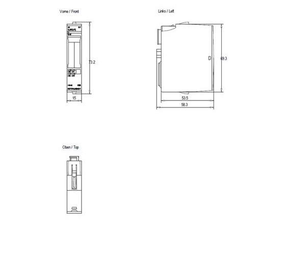 Siemens 6ES7134-6JD00-0CA1 ET200SP Simatic AI 4xRTD/TC