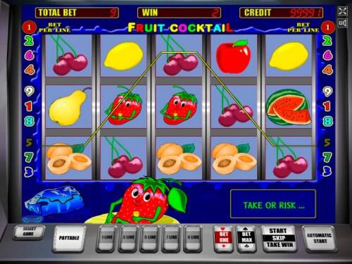 Fruit Cocktail slot game