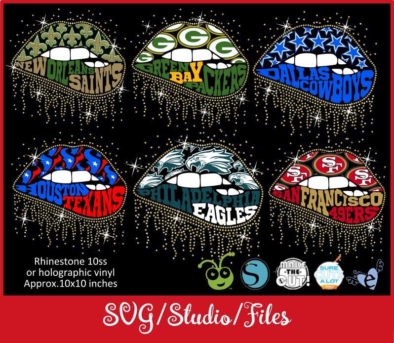 Download lllᐅLips NFL teams SVG - Bgartdesigner: Cricut and ...