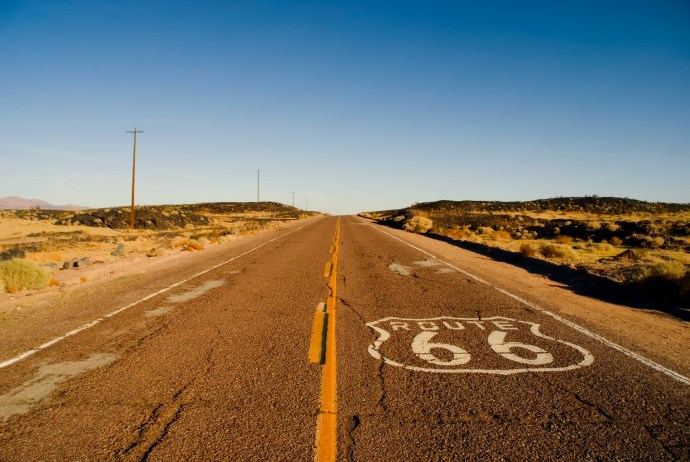 Route 66 - going solar