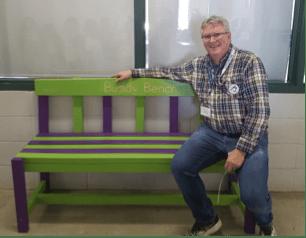 Duane McEwan's Buddy Bench #NVW2019 - National Volunteer Week 2019