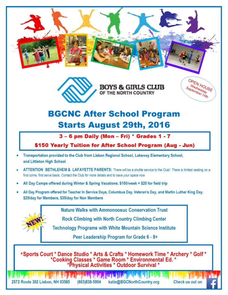 Click The Image Below To Download The Pdf Registration Form For This Year's  Summer Camp! Please Bring Completed Forms To The Club.