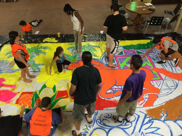 Creating Community Art - Boys And Girls Clubs Of