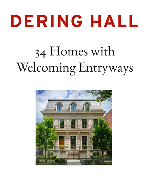 Dering Hall - 14 Homes with Welcoming Entryways