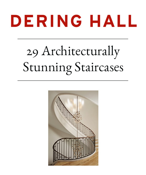 Dering Hall - 29 Architecturally Stunning Staircases