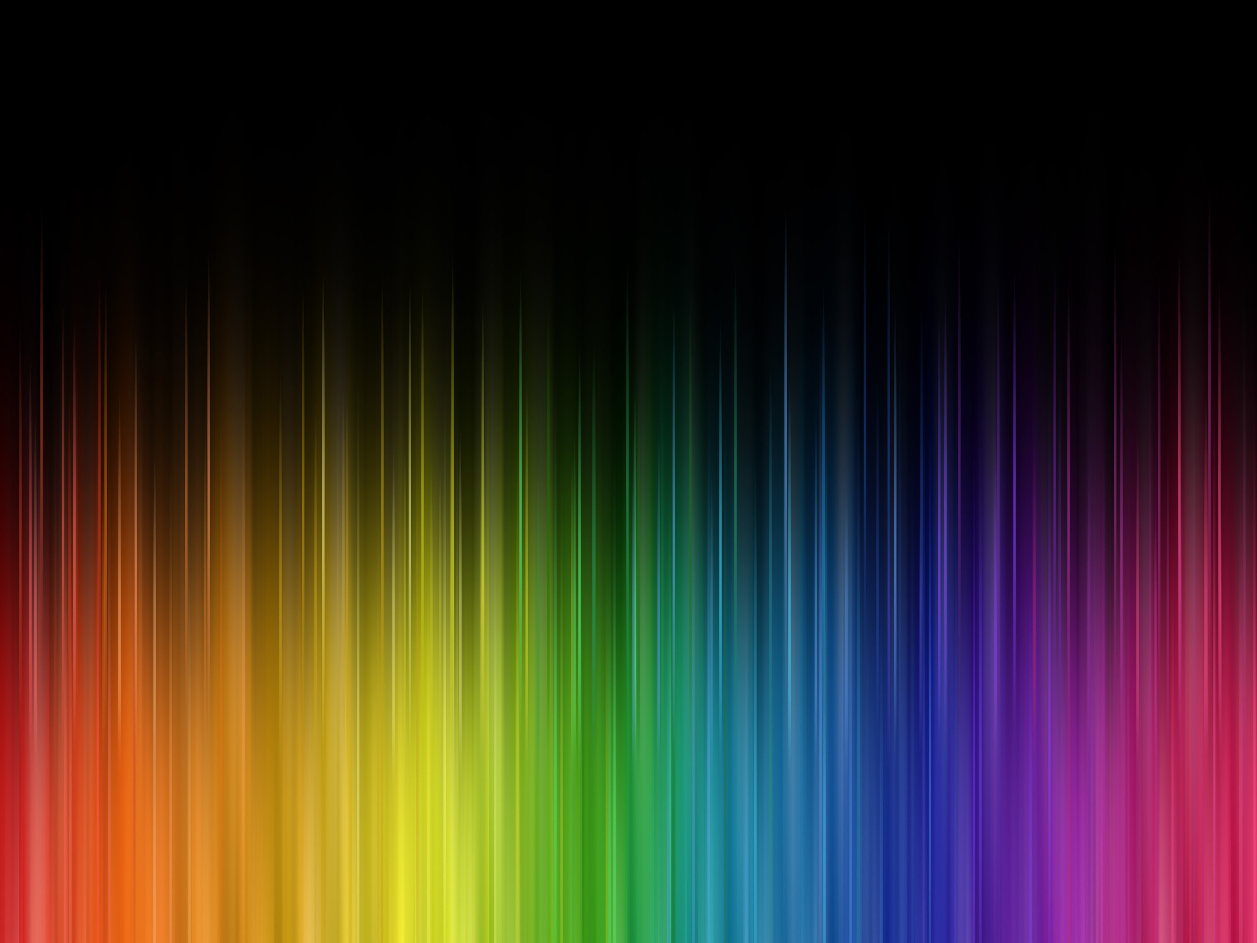 Real Rainbow Colors In Order