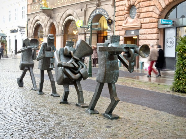 Art Sculptures On Streets