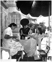 Aline Johnson De Menocal ( Havana Glamour Girl ) Nina leen 1946
