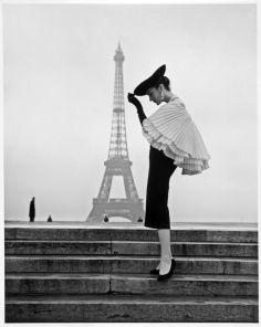 Model Patricia in Jacques Fath photographed by Walde Huth, 1955