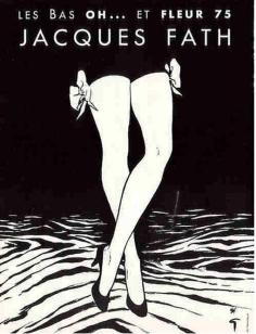 René Gruau for Jacques Fath