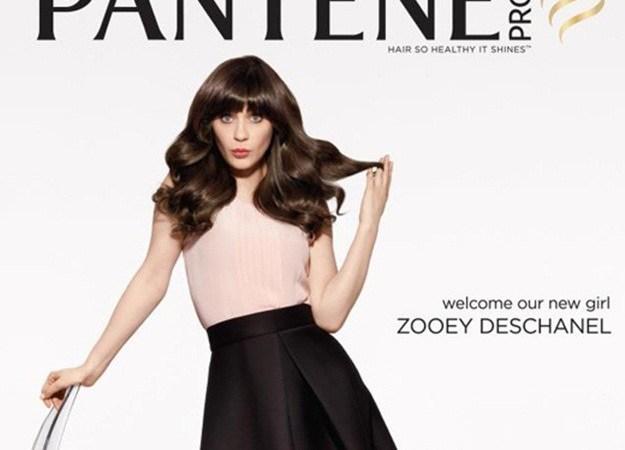 Pantene elige a Zooey Deschanel como imagen