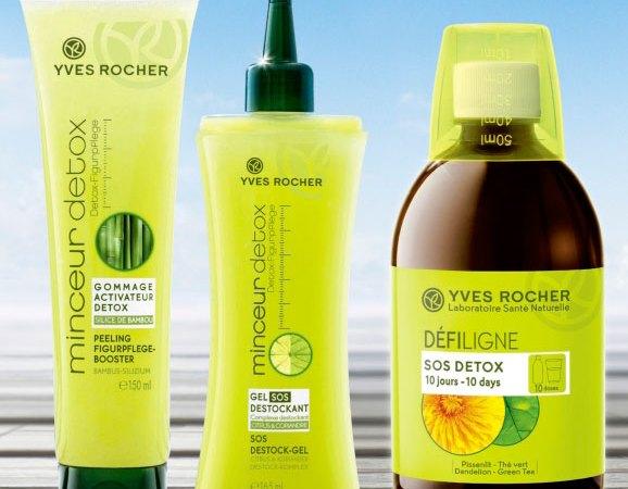 Minceur Detox de Yves Rocher nos ayuda a bajar de peso