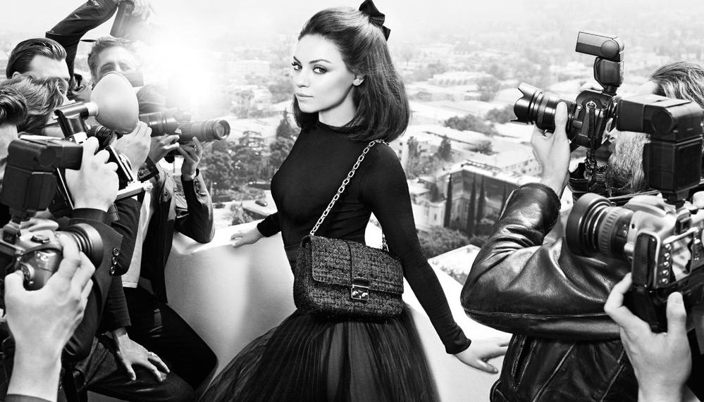 Imágenes de Mila Kunis como imagen de Dior