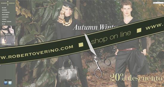 Ya puedes comprar online las creaciones de Roberto Verino