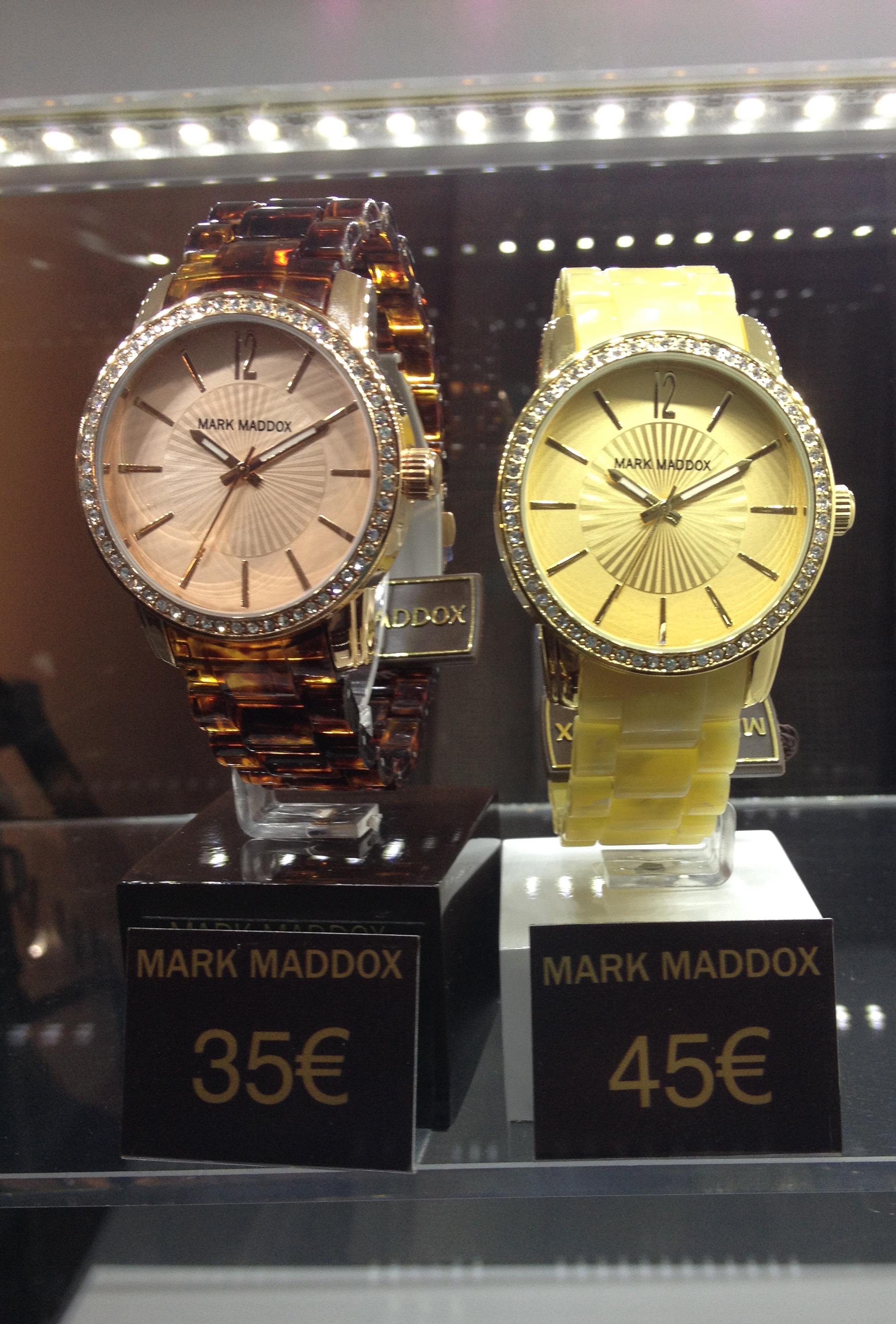 Mark Maddox y su primera colección de relojes