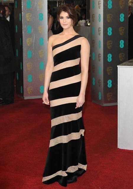Gemma Artenton en los Premios BAFTA 2013