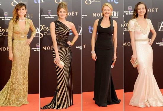 Vestidos Goya 2013