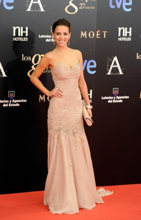 Ana Fernández en Los Goya 2013