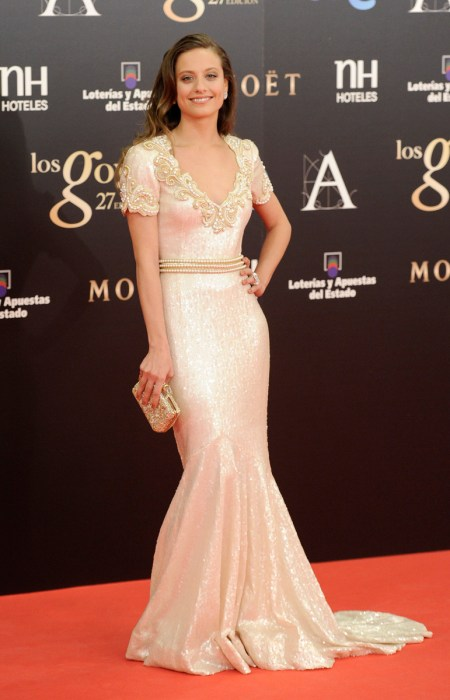 Michelle Jenner en Los Goya 2013