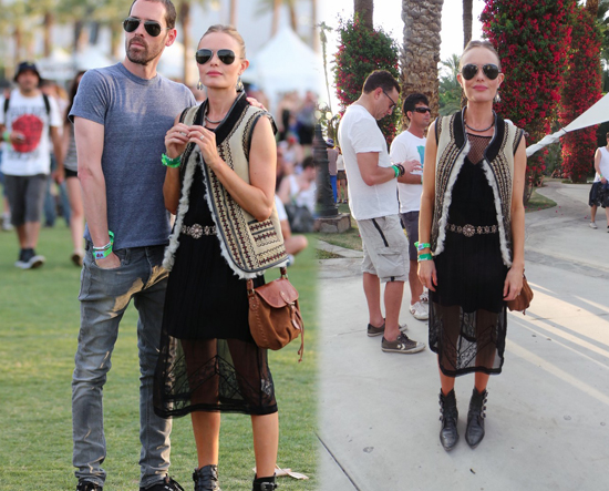 Kate Bosworth en Coachella 2013