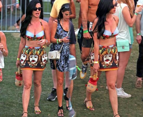 Los famosos en el Festival de Coachella 2013 [día #2]