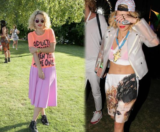 Rita Ora en Coachella 2013