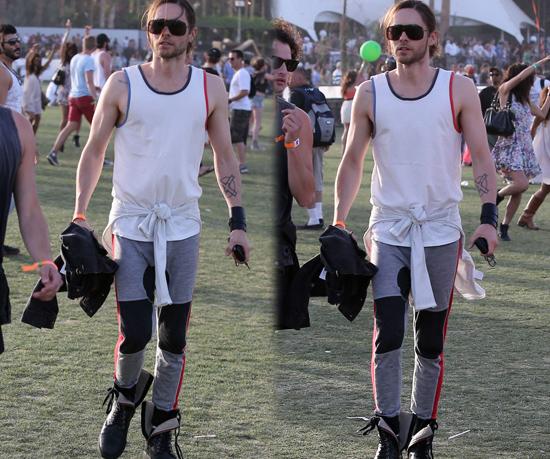 Jared Leto en Coachella 2013