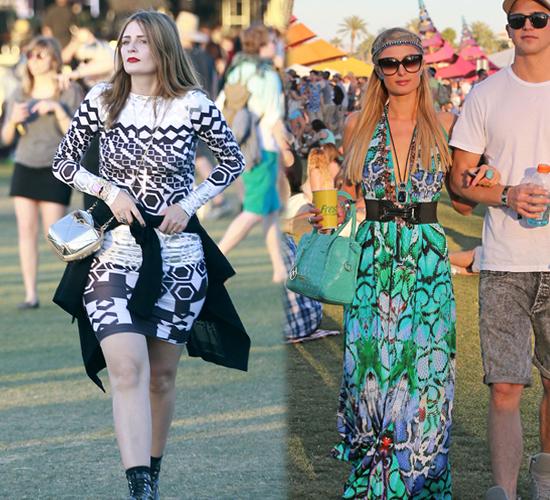 Paris Hilton y Mischa Barton en Coachella 2013