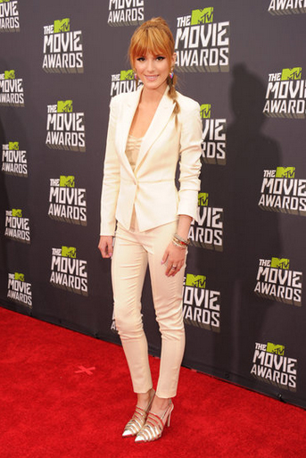 Bella Thorne en los MTV Movie Awards 2013