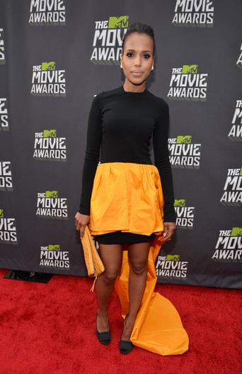 Kerri Washington en los MTV Movie Awards 2013