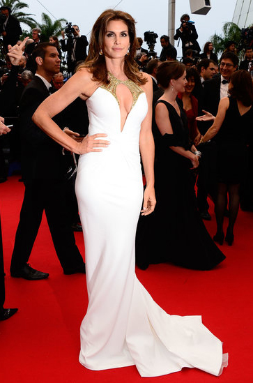 Cindy Crawford en Cannes 2013