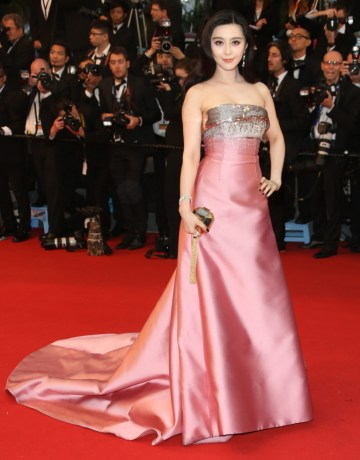 Fan Bing Bing en Cannes 2013