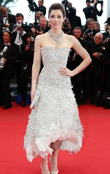 Jessica Biel en Cannes 2013