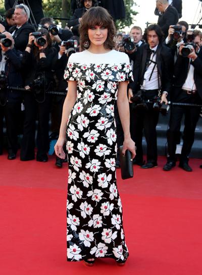 Mila Jovovich en Cannes 2013