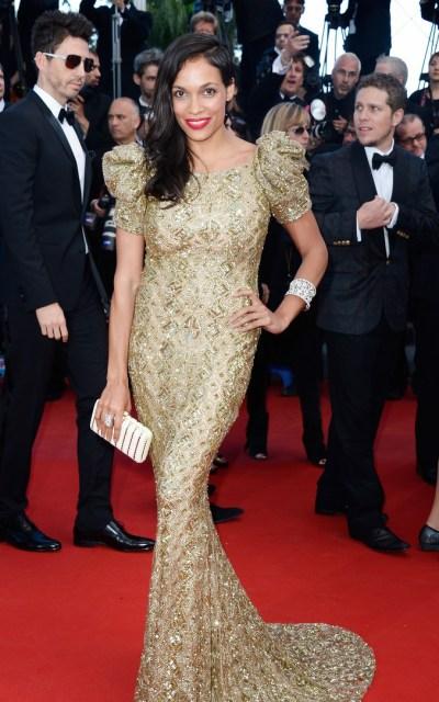 Rosario Dawson en Cannes 2013