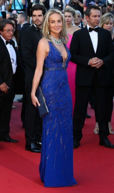 Sharon Stone en Cannes 2013