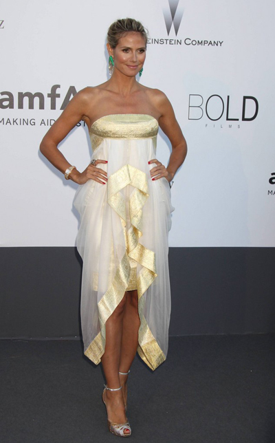 Heidi Klum en Cannes 2013