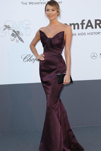 Stacy Keibler en Cannes 2013