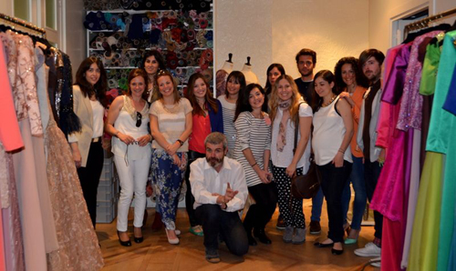 Visita al taller de Lorenzo Caprile