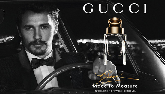 James Franco imagen masculina de Gucci Made to Measure