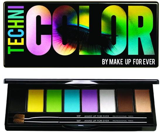 Dale color a los ojos con Technicolor de Make Up For Ever