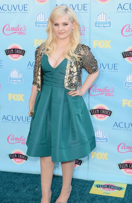 Abigail Breslin en Teen Choice Awards 2013
