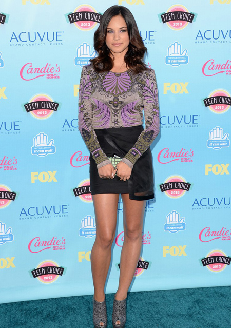 Alexis Knapp en Teen Choice Awards 2013