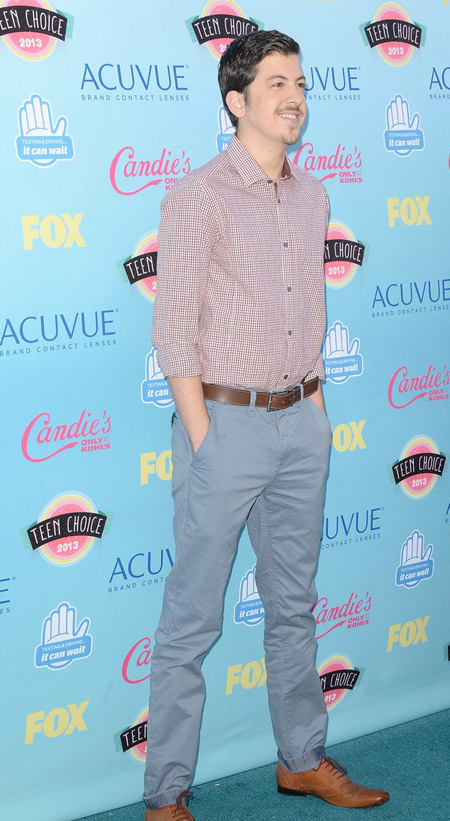 Christopher Mintz-Plasse en Teen Choice Awards 2013