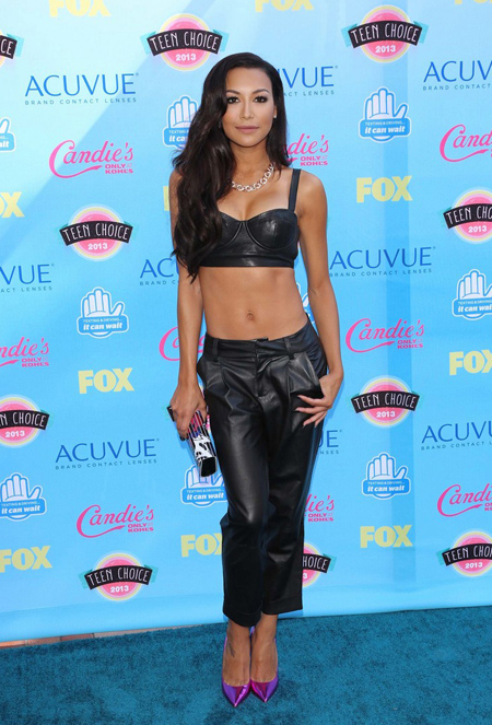 Naya Rivera en Teen Choice Awards 2013