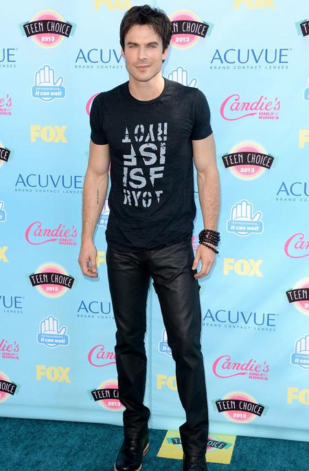 Ian Somerhalder en Teen Choice Awards 2013