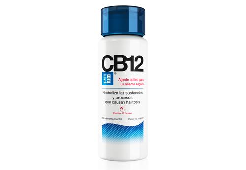 CB12 te ayuda a eliminar el mal aliento