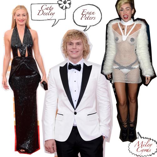 Vestidos horribles de famosos en septiembre