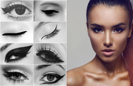 Delineados con eyeliner