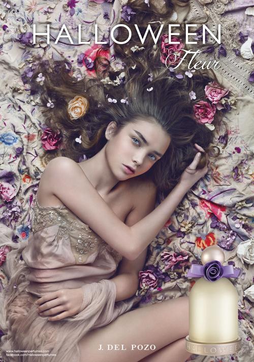 Un mantón de flores con Halloween Fleur, la nueva fragancia de delPozo